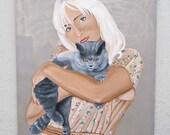 Lynn/Acrylic on canvas
