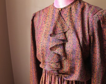 Jewel Toned Secretary Dress by The Kollection