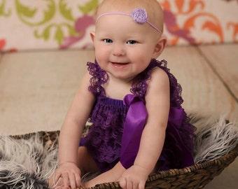lavender headband..baby girl headbands..girls lavender headband..baby girl headband..baby headband