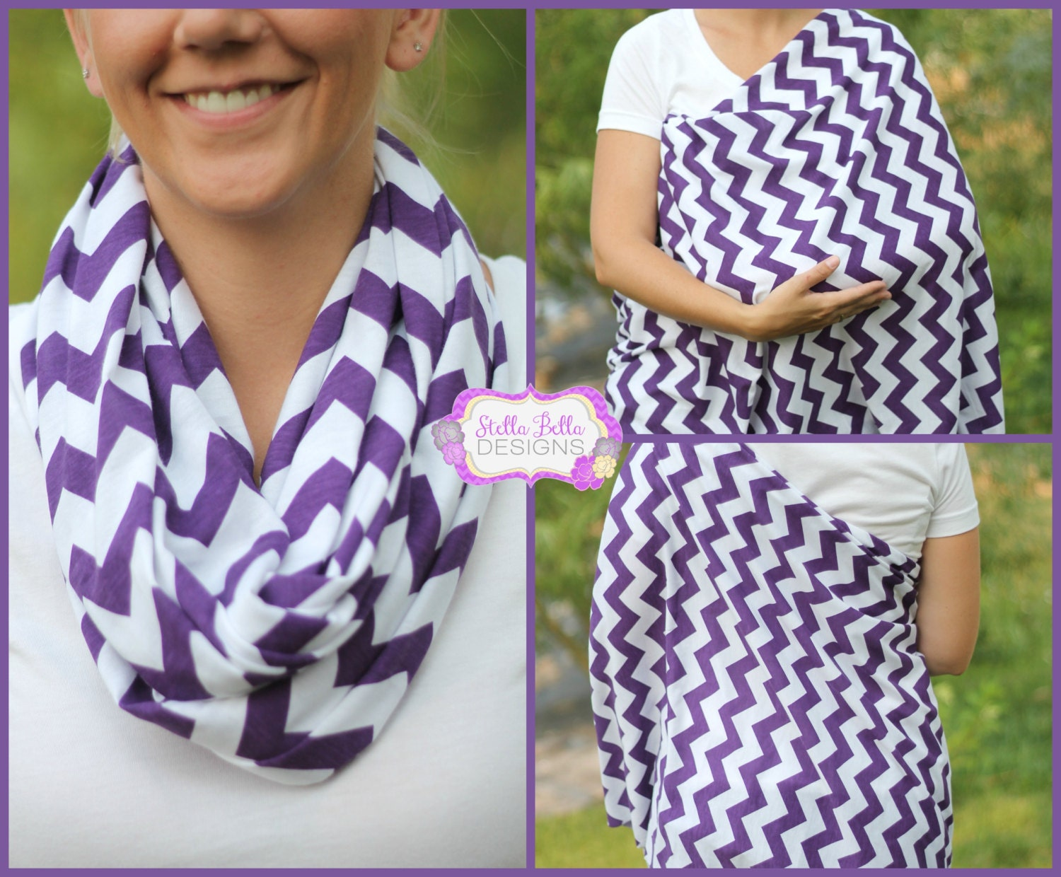 how to use a nursing scarf
