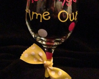 Decorative Wine Glass