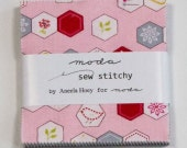 Charm Pack of Sew Stitchy by Aneela Hoey for Moda