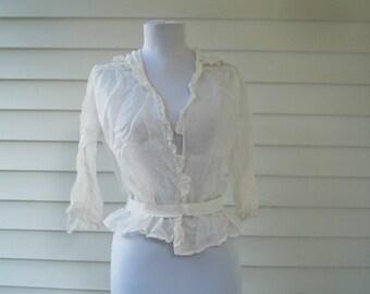 Antique blouse - a fixer upper
