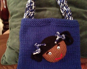 Knitted Zeta Child's Purse