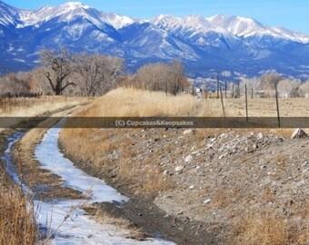 "Landscape ""Ice Stream"" Fine Art Photograph"