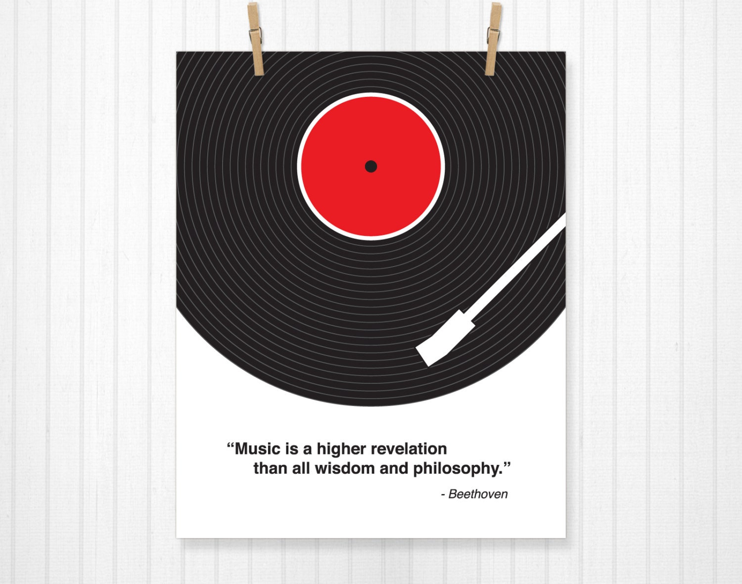 Custom Quote Prints Custom Music Quote Vinyl Record Custom Lyric Print Lyrics