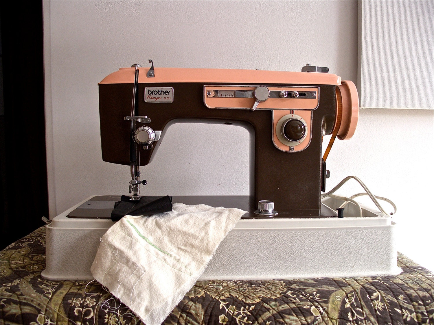 Brother Charger 651 Vintage Sewing Machine