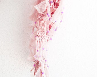 pink  scarf , women scarves, tulle scarf, fashion accessories, gifts girly accessories, women's fashion