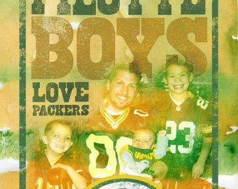 Green Bay Packers - Custom Name - Family Picture