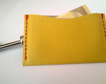 Leather Credit Card Holder, Credit Card Wallet