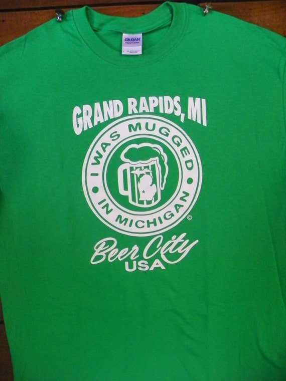 awesome beer city t shirt for grand rapids michigan original