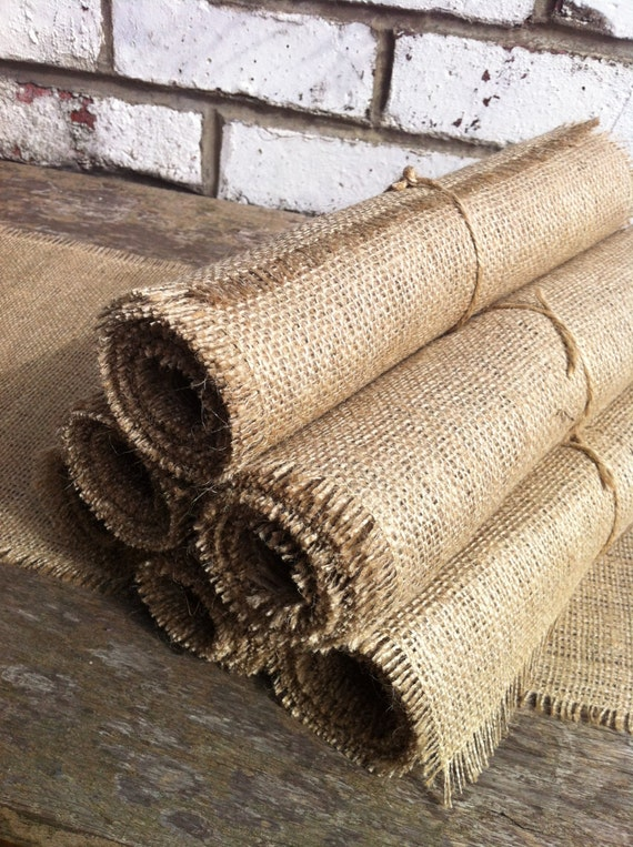 Rustic hessian wedding runner, burlap table runner, 72 inches long - table decoration rustic photo prop, dining Christmas table