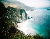 Big Sur - California - Pacific Coast - Sea - Ocean - Holga - film - medium format - 5x5 square matte print