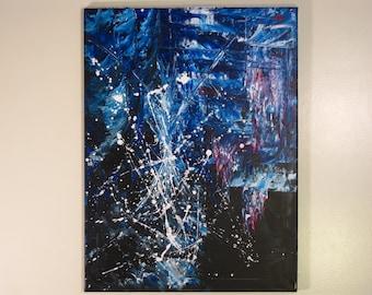 18x24 Untitled Acrylic on Canvas 020