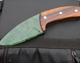Jade Knife, hand carved