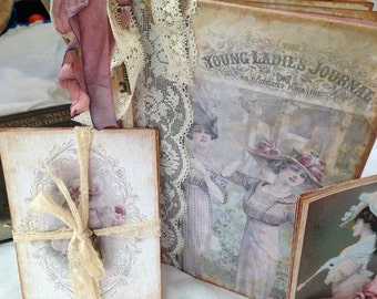 Journal - Downton Abbey Inspired Edwardian Journal - 100 pages