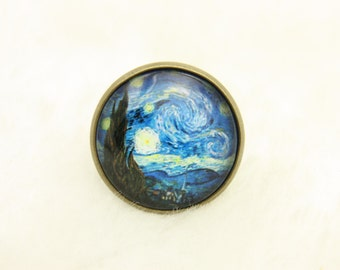 RING starry night van Gogh(2020B)