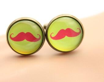 Cufflinks mustaches (1616)