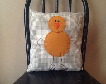 Handmade Chick Pillow