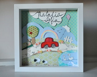 Available on order - Personalized art - Kid's room