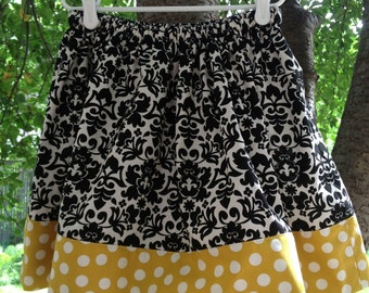 Go for Baroque Cotton Skirt