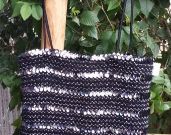 Black Sparkle/Silky  Bag