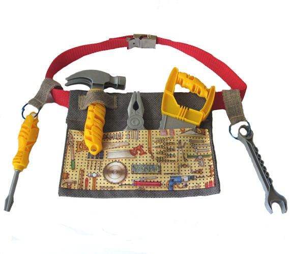 Toy Tools For Boys : Boys tool belt childs caddy builder toy