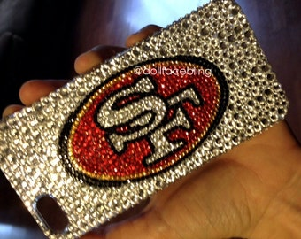 MADE TO ORDER sf San Francisco bling crystal case iphone galaxy iPad