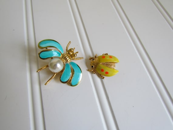 Super Cute Bug Brooches