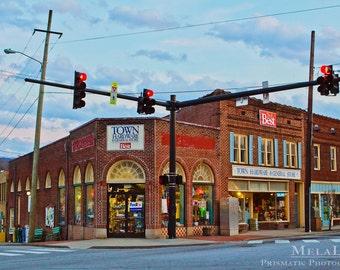 Black Mountain, NC Town Hardware, Iconic Fine Art PRINT, Western North Carolina Appalachian Wall Art