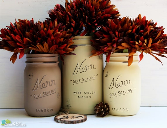 Rustic earthtones fall thanksgiving decor hostess by