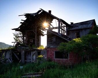 Abandoned barn in NY