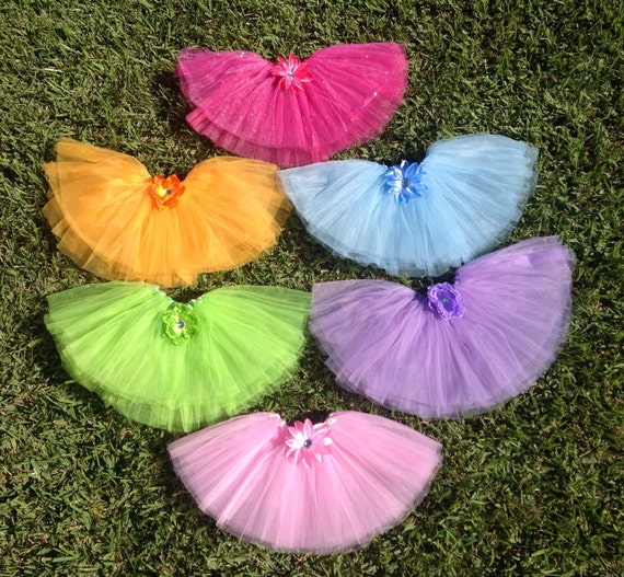 6 Cupcake Party Favors, Ice Cream Party Favors, Ballet Tutus, Princess Fairy Tutus, Tutus Party favors,
