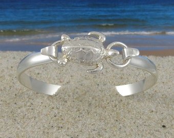 Cape Cod Convertible Sterling Silver Sea Turtle Bracelet