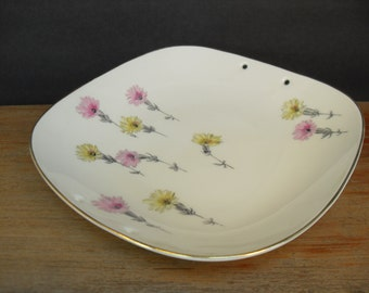 Decorative Floral Selb K & A Krautheim, Bavaria Germany Plate Bowl