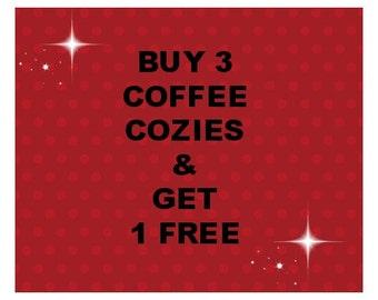 Coffee Cup Cozy, Green Cozy, Cream cozy, Mug Hug, Coffee Cup Cozy, Cup Cozy, Drinkware, Housewares