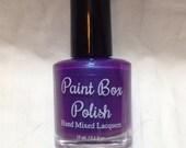 Solstice - Purple-Blue duochrome with purple flakies