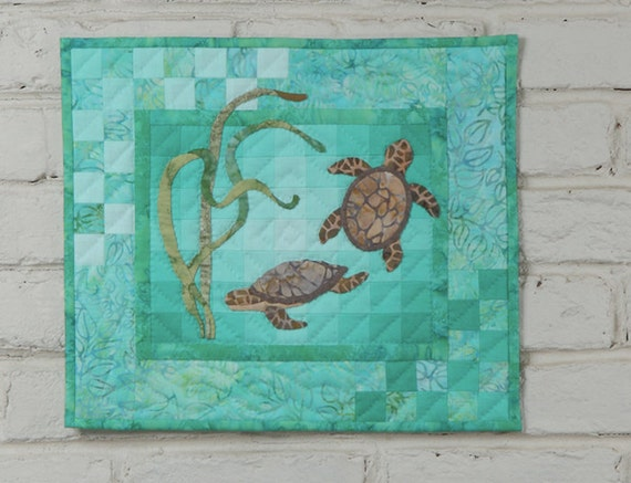 Turtles Wall Quilt Kit