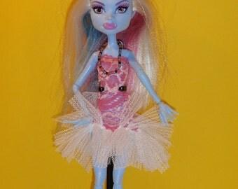 Handmade M.H. dolls  Dress Tutu -Handmade  M.H. dolls  Clothes