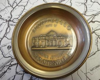 Vintage Monticello Ashtray / Souvenir