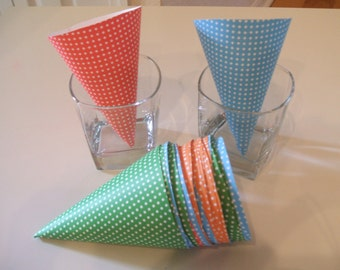 27 Party Favor Cones