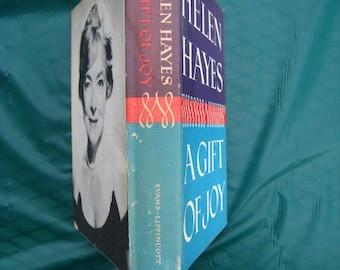 A Gift of Joy - Helen Hayes - Signed - HC - Dust Jacket - 1965