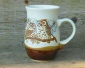 Otagiri Original ceramic mug Two owls