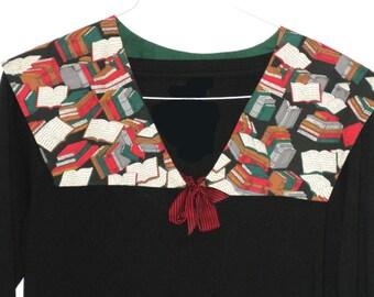 Back to School Overlay Collar