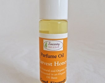 Harvest Honey Organic Perfume oil.