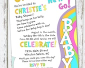Oh, The Places You'll Go - baby shower invitation