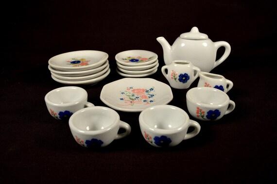 childrens play tea sets