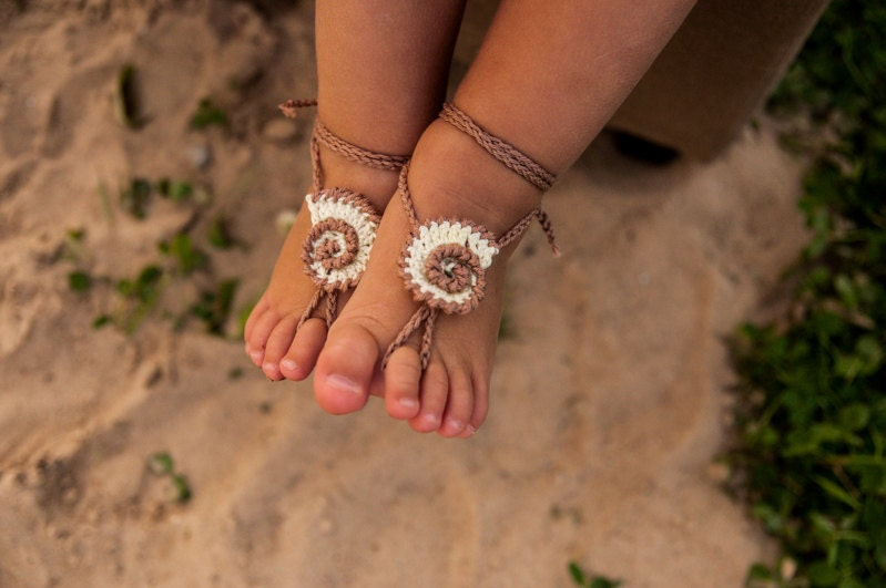 how to make your own baby barefoot sandals