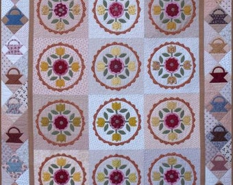 Geoff's Mom Pattern Co. Circle of Spring Quilt Pattern