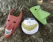 A Nightmare Before Christmas Mask Trio